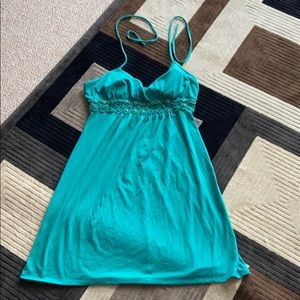 Sequin heart  size large summer dress